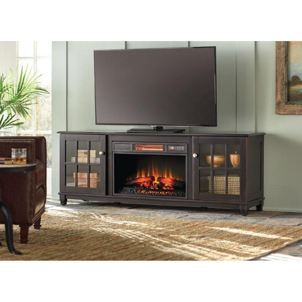 Home Decorators Collection Fire Places Wood Stoves Hardware Westcliff 66 In Low Boy Media