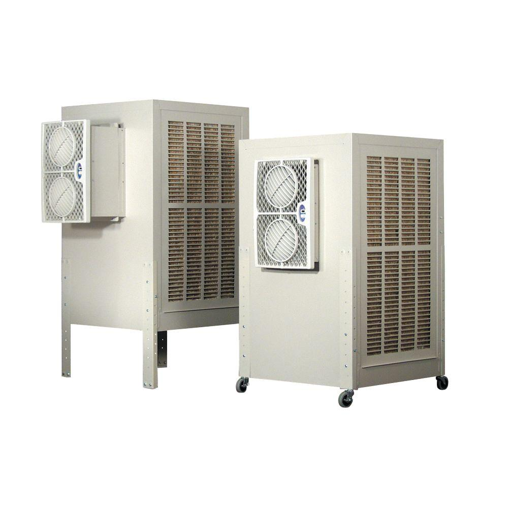 4600 CFM Cool Tool 2-Speed Portable Evaporative Cooler for 1400 sq.
