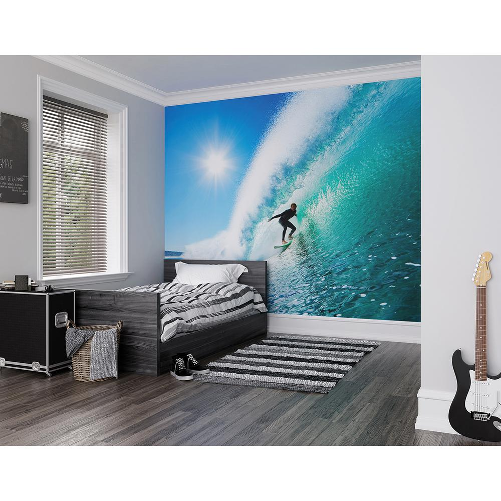 Brewster 118 in x 98 in adrenalin wall mural wals0150 for Brewster wall mural