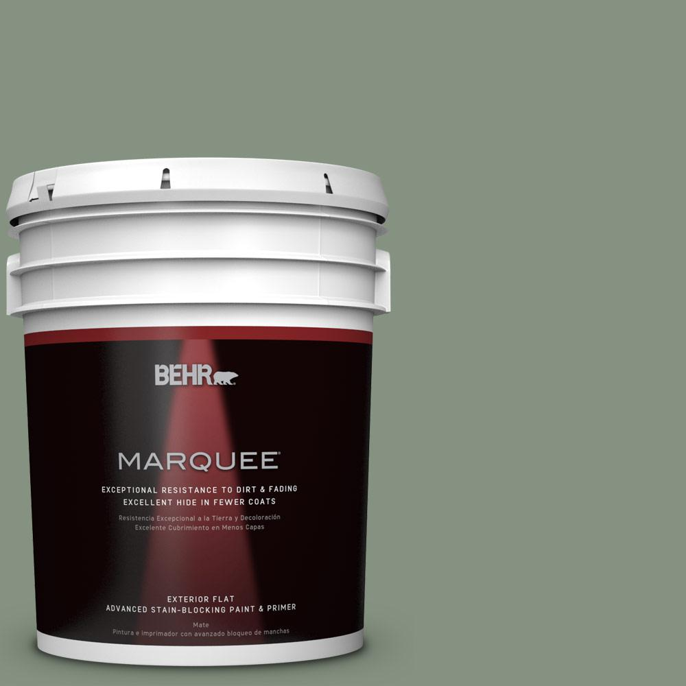 5-gal. #QE-45 Thistle Flat Exterior Paint