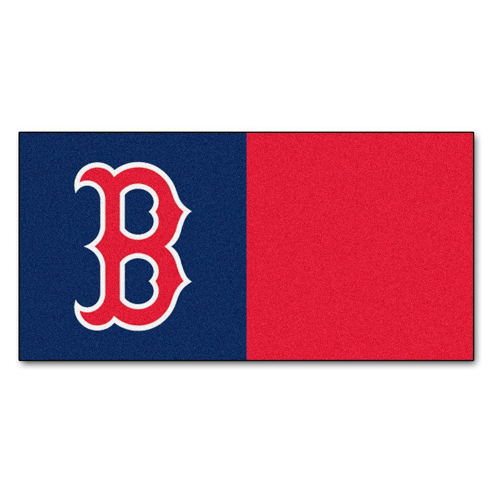 MLB - Boston Red Sox Navy Blue and Red Nylon 18
