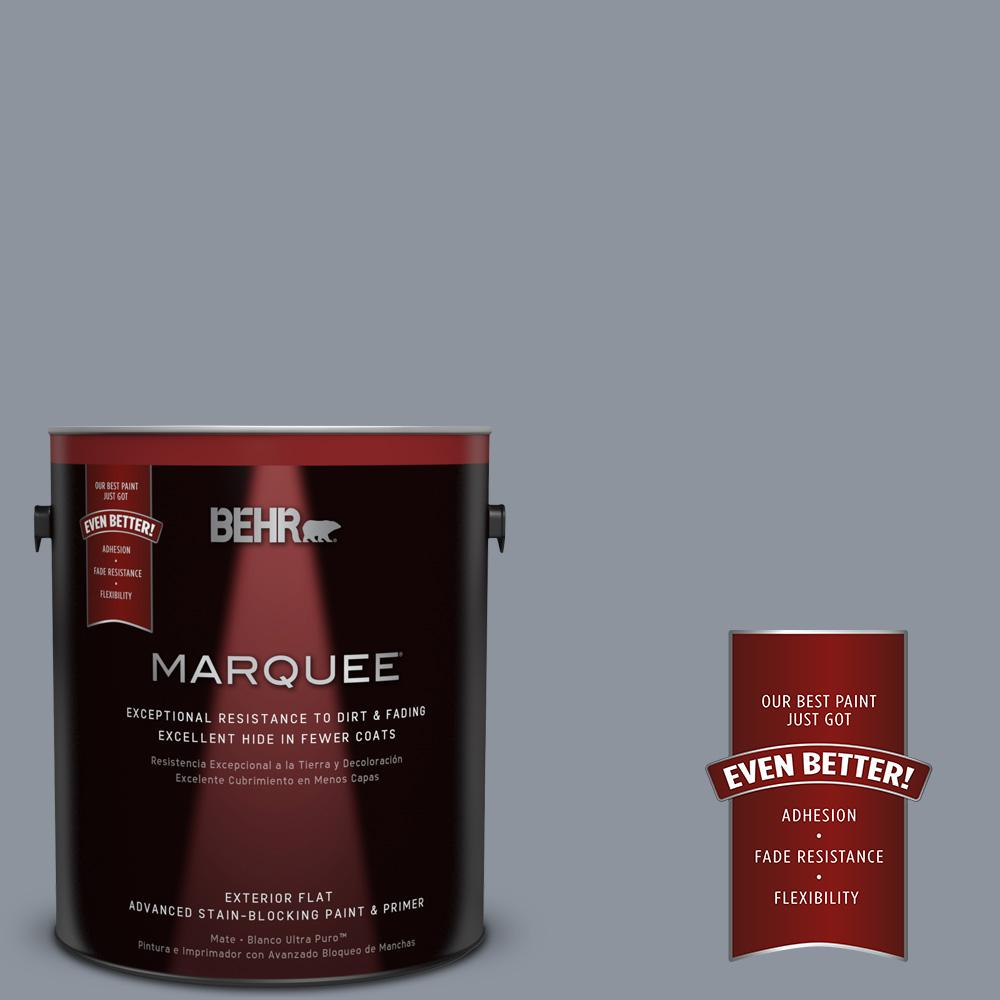 BEHR MARQUEE 1-gal. #bxc-88 Cool December Flat Exterior Paint