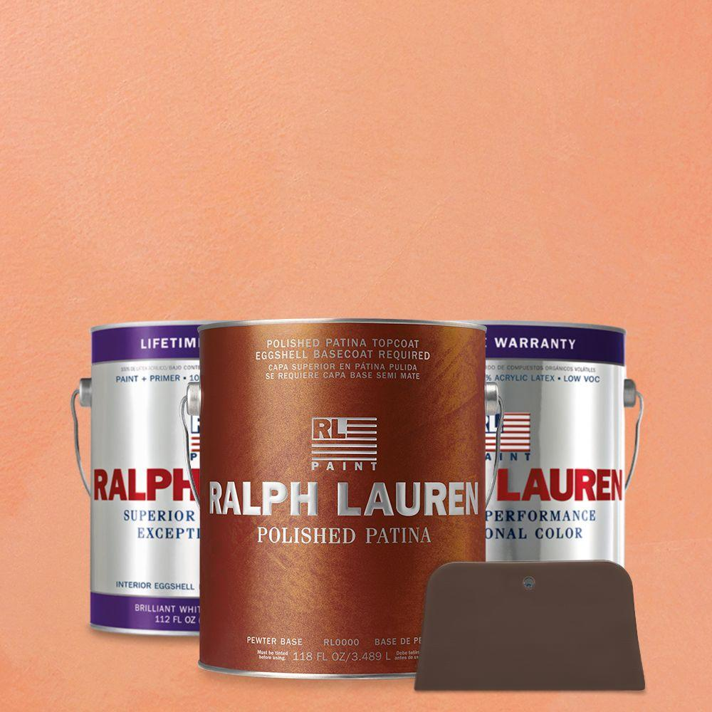 Ralph Lauren 1 gal. Pale Dianthus Pewter Polished Patina Interior Specialty