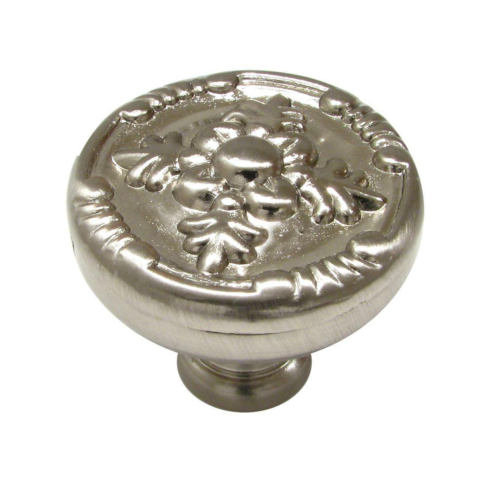 Richelieu Hardware 1-17/64 in. Brushed Nickel Cabinet Knob
