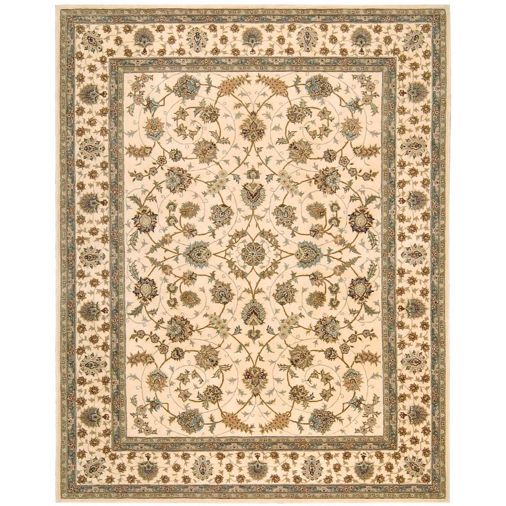 2000 Ivory 9 ft. 9 in. x 13 ft. 9 in. Area Rug
