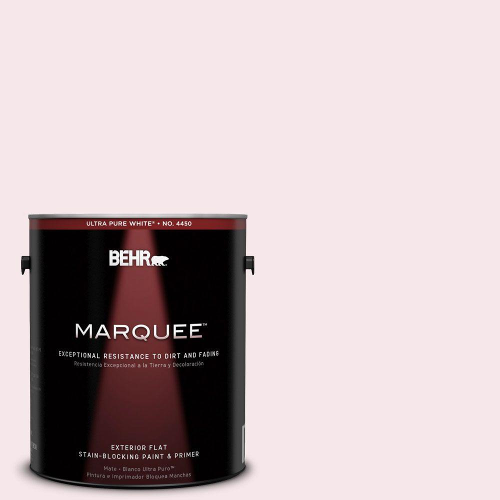 BEHR MARQUEE 1-gal. #120A-1 Light Chiffon Flat Exterior Paint