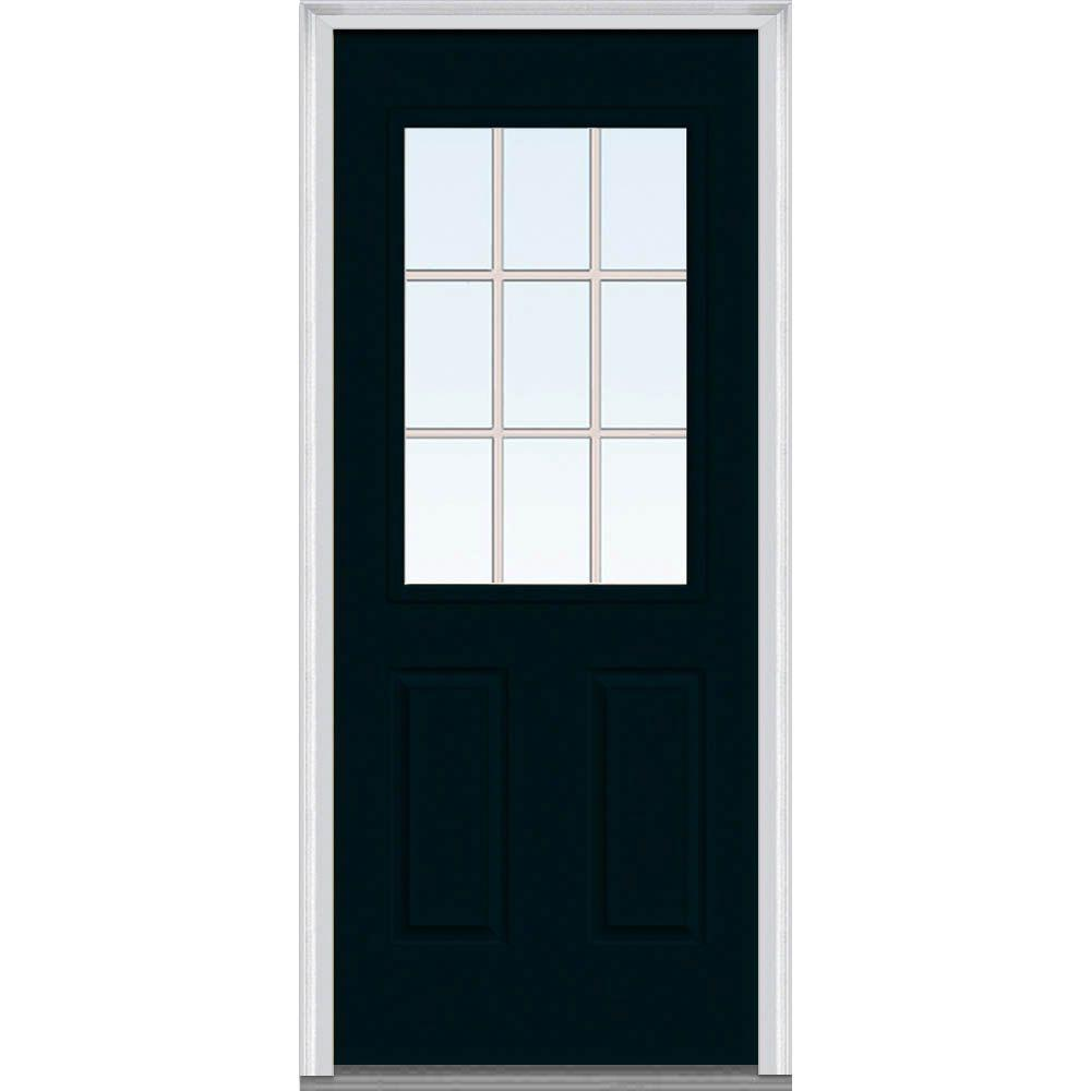 Milliken Millwork 32 in. x 80 in. Classic Clear Glass GBG