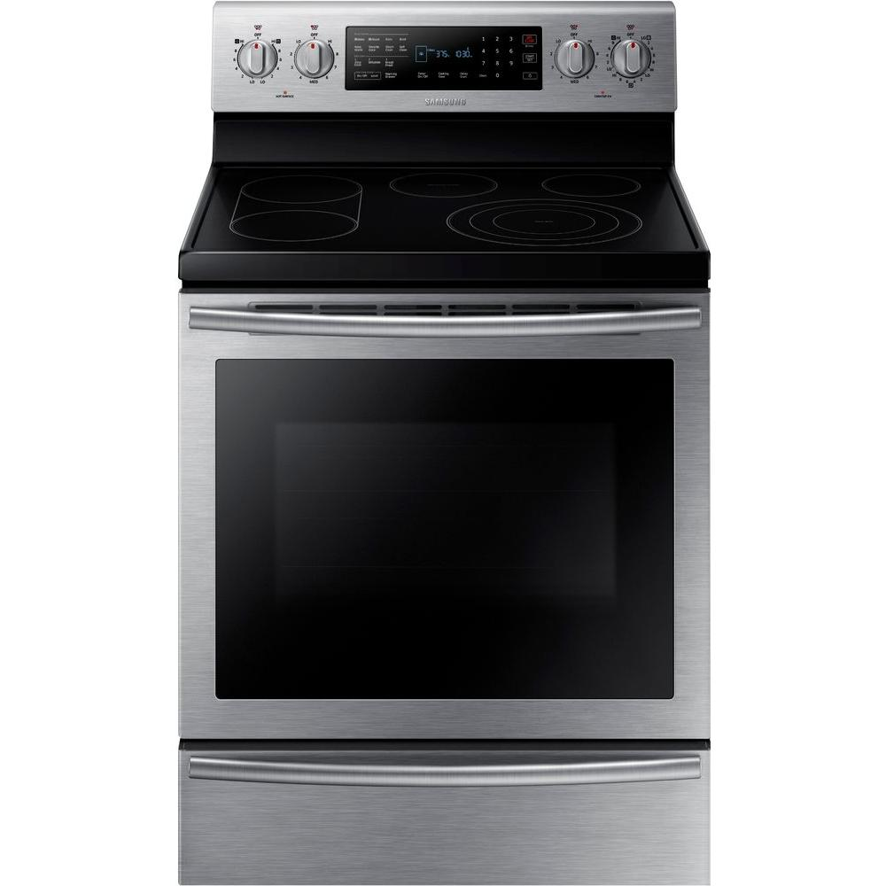 30 in. 5.9 cu. ft. Electric Range with Self-Cleaning True Convection