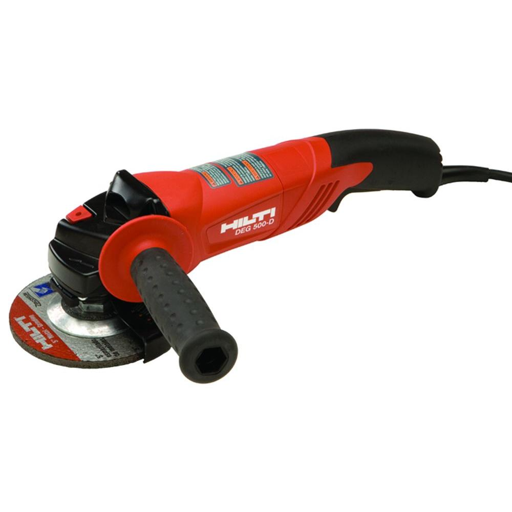Hilti DEG 500-D 11.5-Amp 5 in. Angle Grinder-285937 - The Home