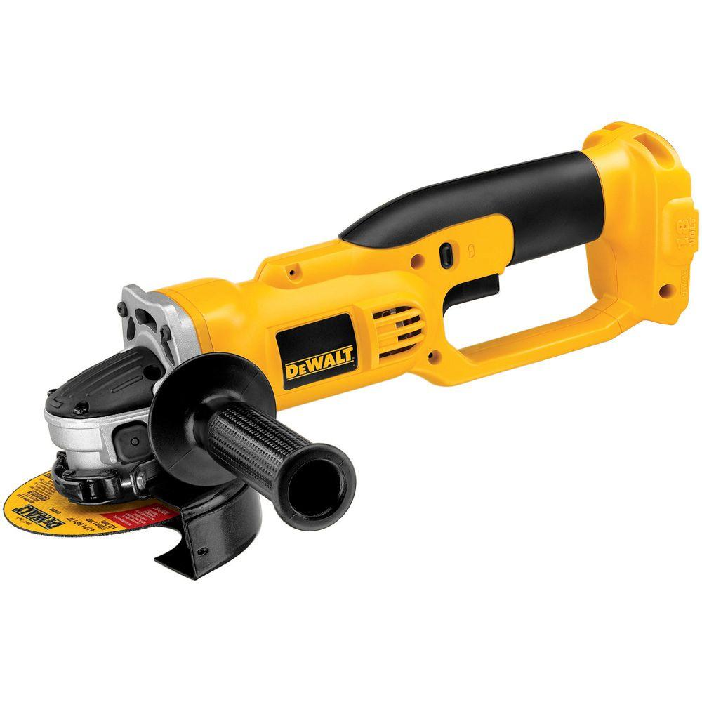 18-Volt 4-1/2 in. (114 mm) Cordless Cut-Off Tool (Tool-Only)