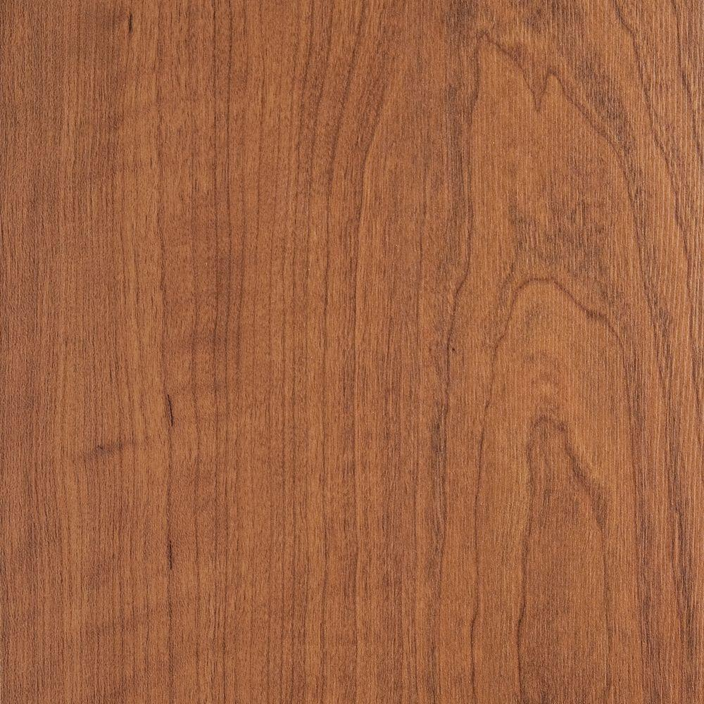 Home Legend Canyon Cherry 7 in. x 5 in. Laminate Flooring - 5 in. x 7 in. Take Home Sample