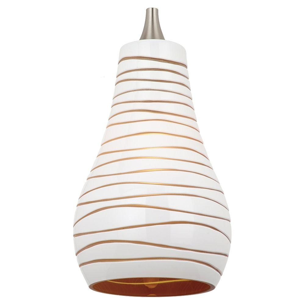Sea Gull Lighting Ambiance Bianca Glass Pendant Shade-94375-6135 - The Home
