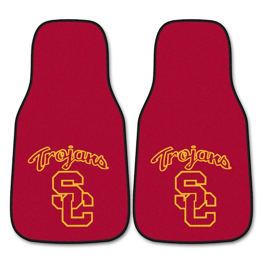 FANMATS University of Southern California 18 in. x 27 in. 2-Piece