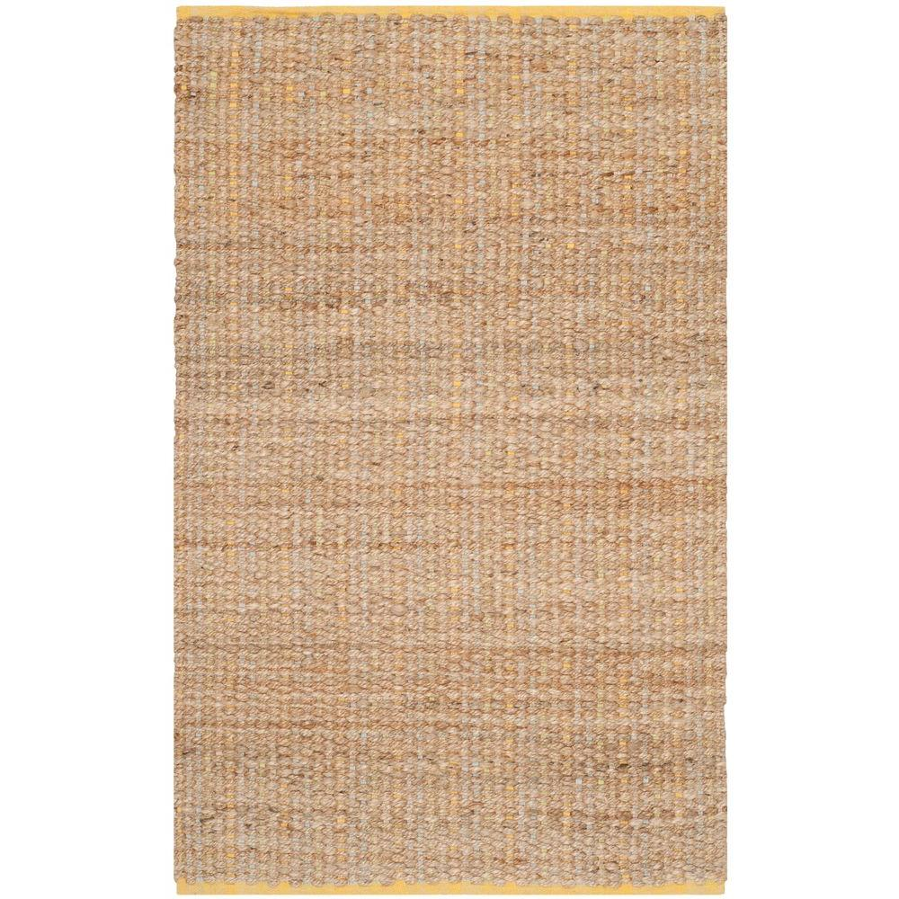 Cape Cod Yellow 3 ft. x 5 ft. Area Rug