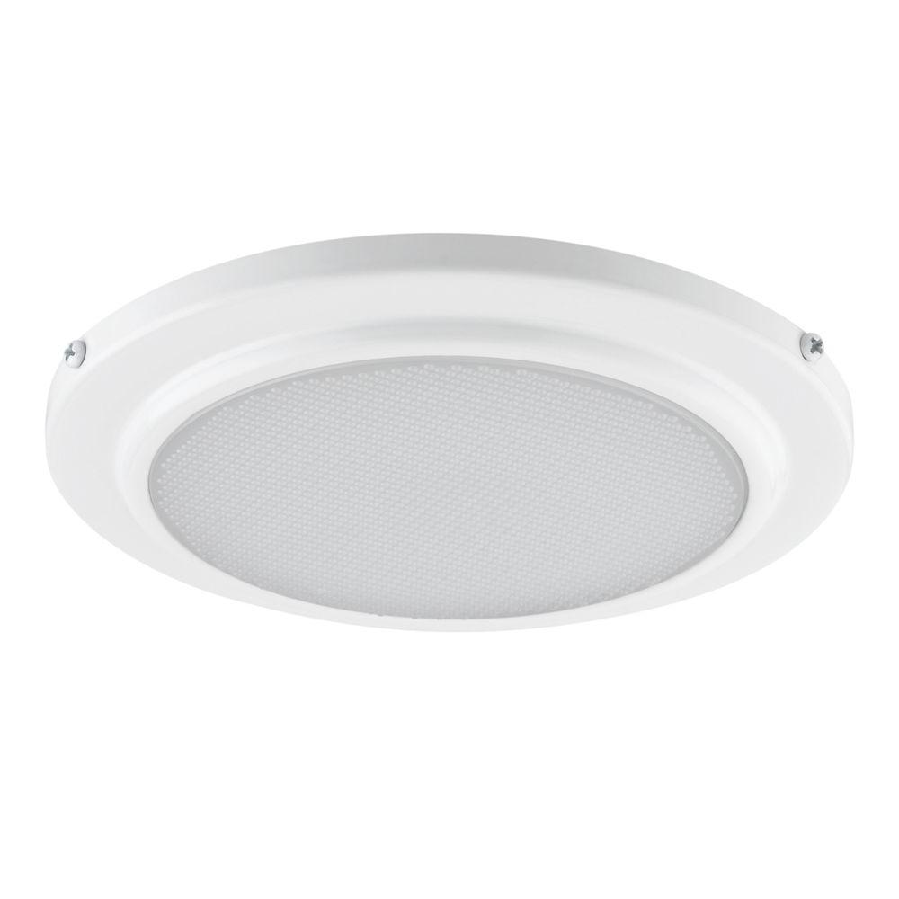 White Recessed Shower Light Fixture 90036   The Home Depot. Globe Electric 5 in  White Recessed Shower Light Fixture 90036