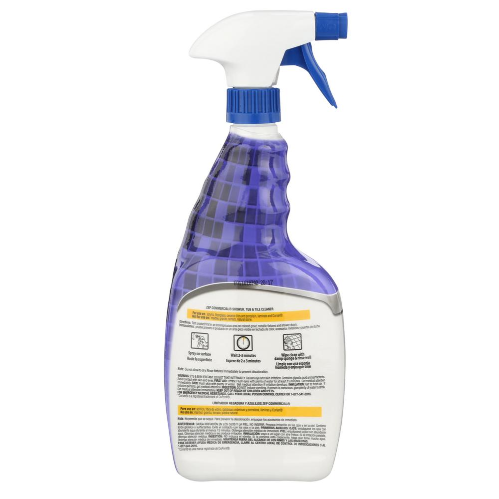 Shower Tub and Tile Cleaner ZUSTT32PF   The Home Depot. ZEP 32 oz  Shower Tub and Tile Cleaner ZUSTT32PF   The Home Depot