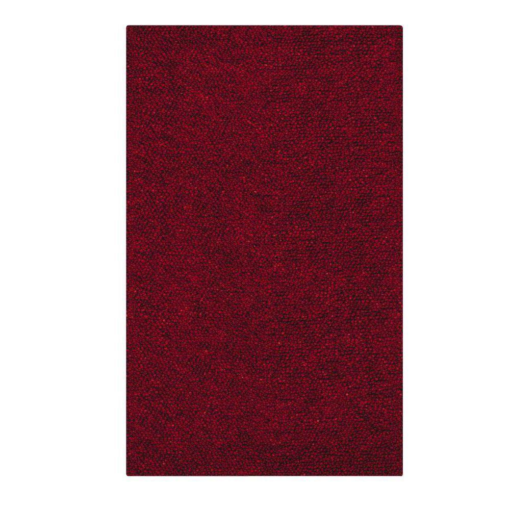 Home Decorators Collection Jolly Shag Red 4 ft. x 6 ft.