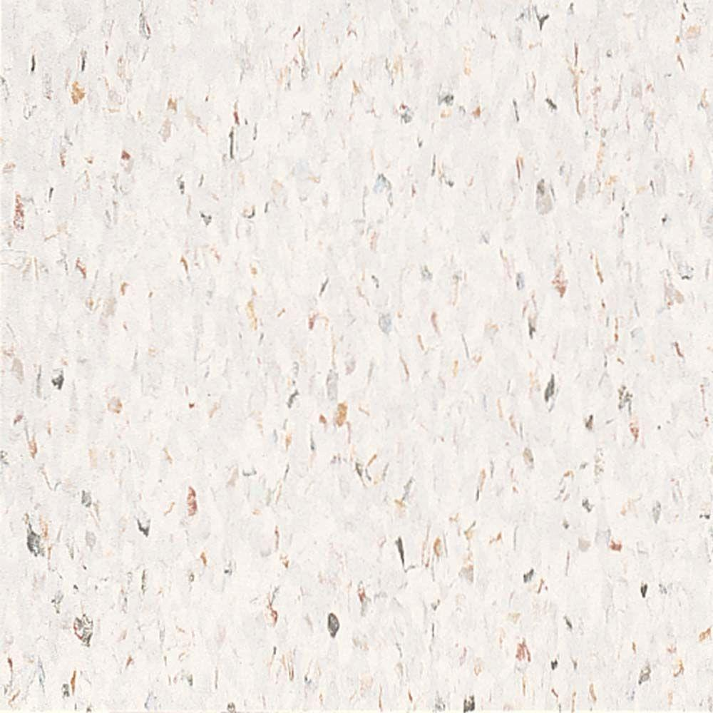 Armstrong Multi 12 in. x 12 in. Jubilee White Excelon Vinyl