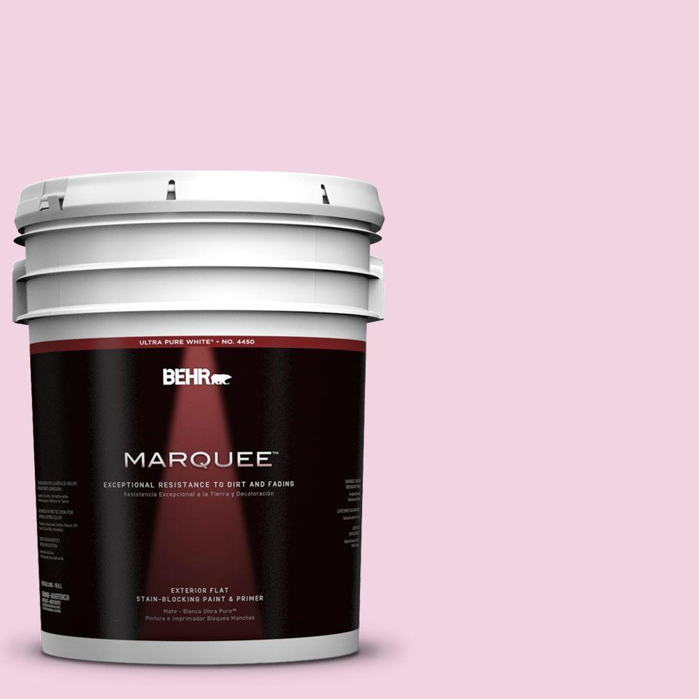5-gal. #100A-3 Scented Valentine Flat Exterior Paint