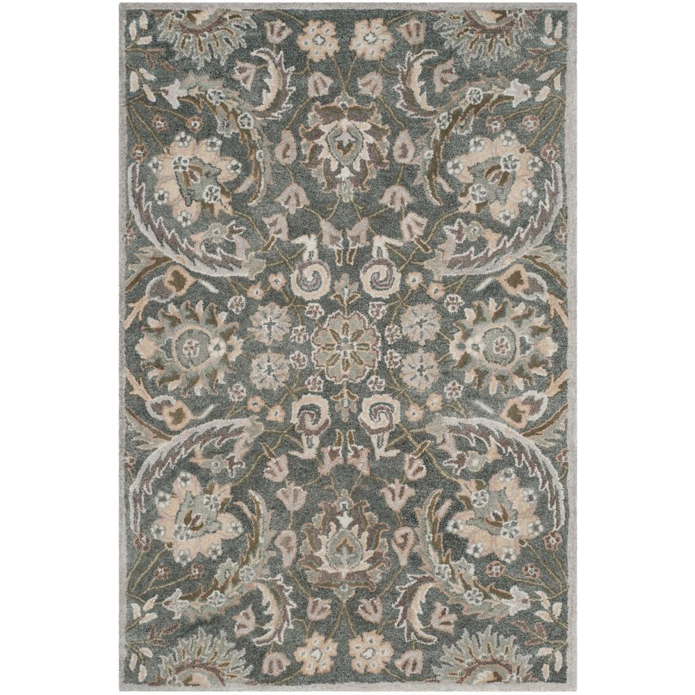 Bella Gray/Multi 6 ft. x 9 ft. Area Rug