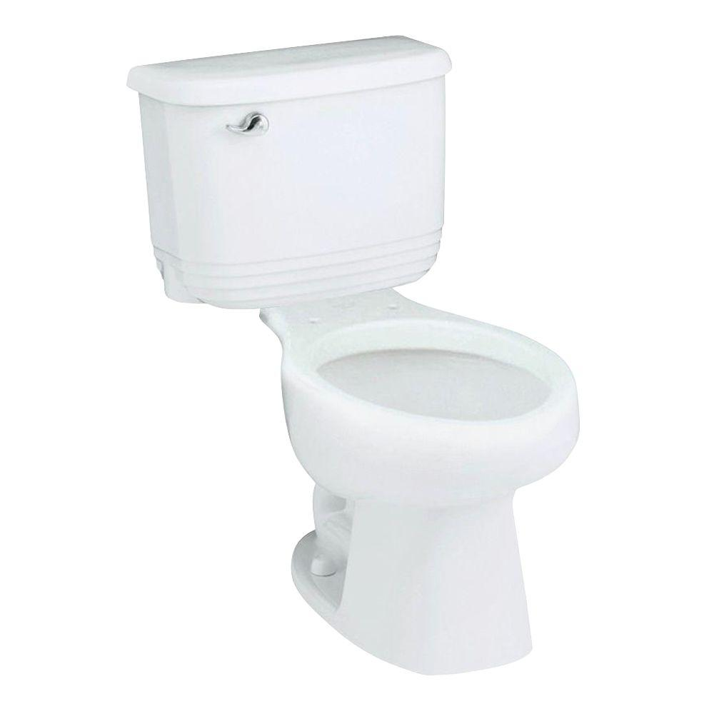 STERLING Riverton 2-Piece Elongated Toilet in White