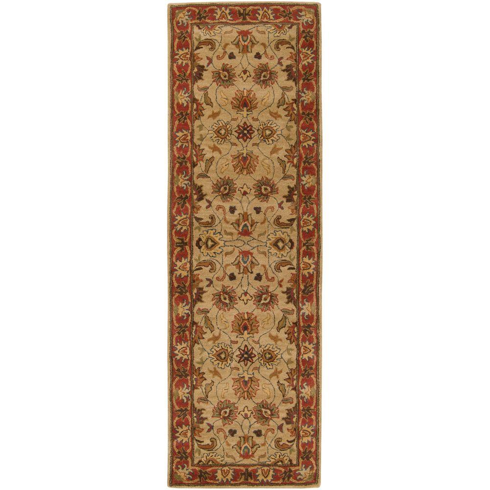 John Beige 2 ft. 6 in. x 8 ft. Rug Runner