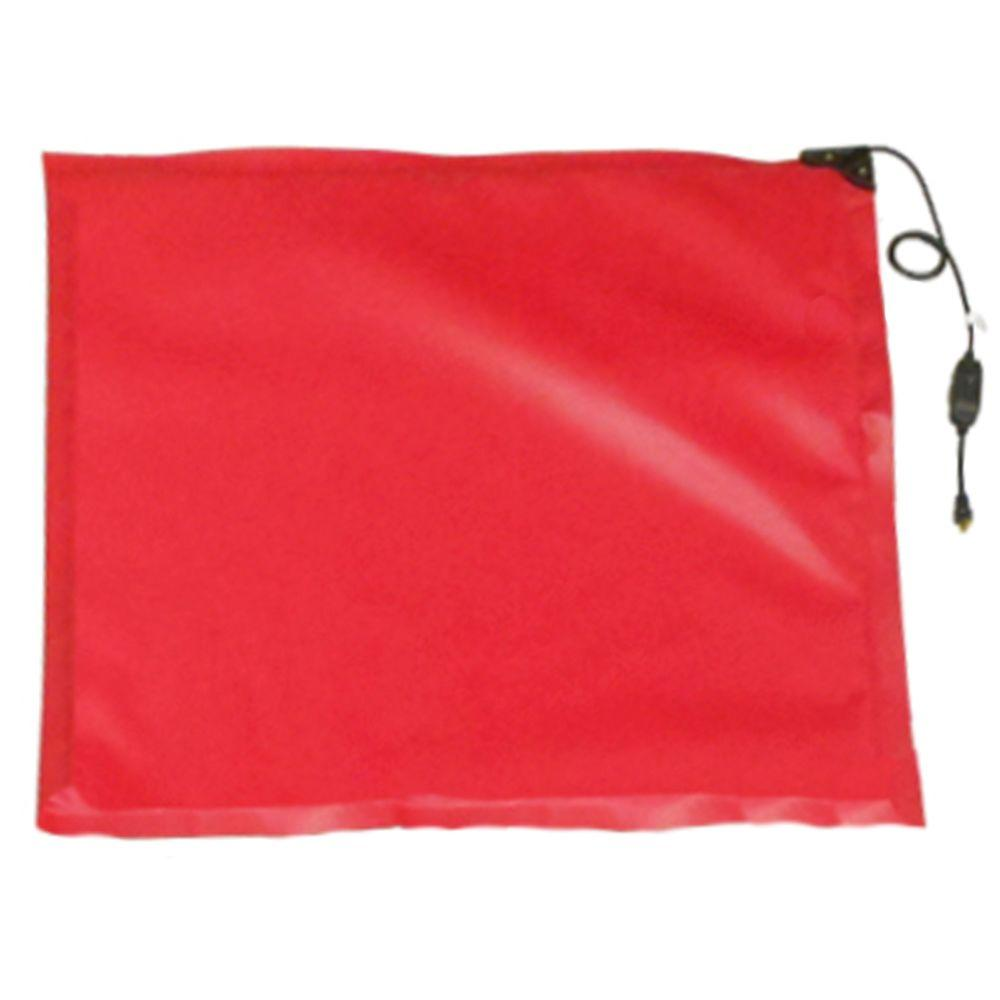 6.5 ft. x 6 ft. Heated Ground Thaw Blanket