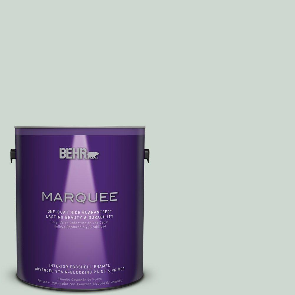 1 gal. #MQ3-21 Breezeway One-Coat Hide Eggshell Enamel Interior Paint