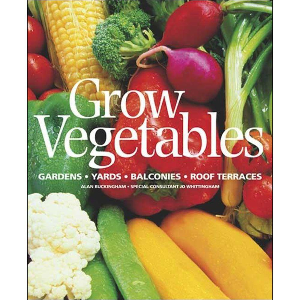 null Grow Vegetables Book-DISCONTINUED