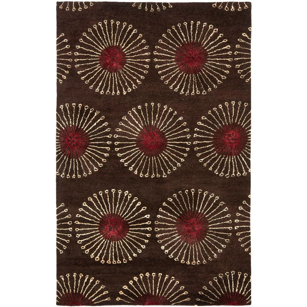 Soho Coffee/Brown (Brown/Brown) 6 ft. x 9 ft. Area Rug