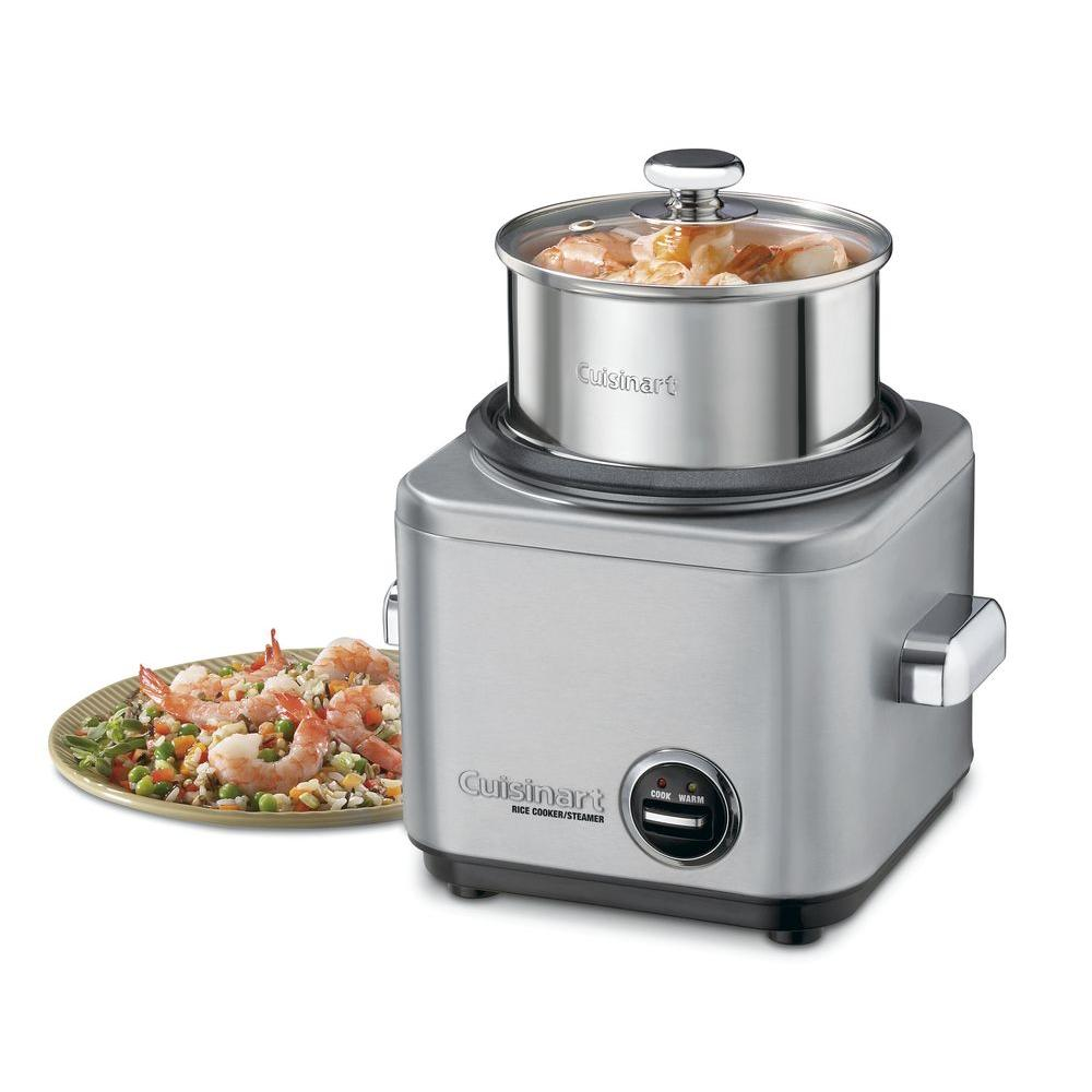 cuisinart 4-cup rice cooker-crc-400 - the home depot