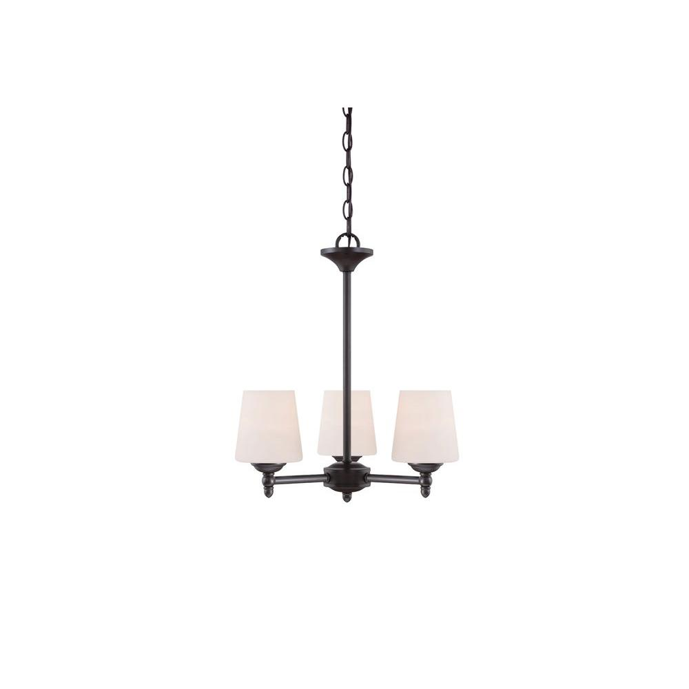 Darcy 3-Light Oil Rubbed Bronze Chandelier