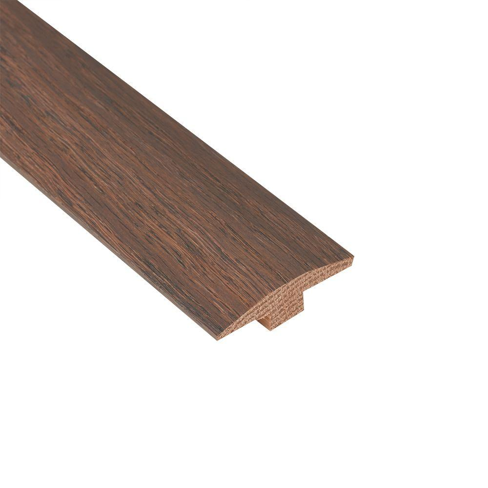 Nydree Flooring Essentials Oak Silver Mist 5/12 in. Thick x 2 in. Wide x 78 in. Length Hardwood T-Molding