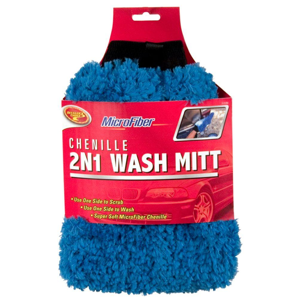 Got snow? Your dog needs a car washing mitt.