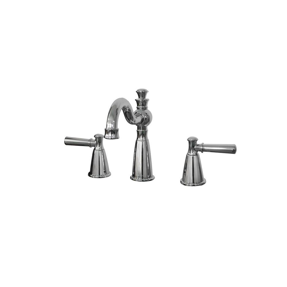 Artistry 8 in. Widespread 2-Handle Bathroom Faucet in Chrome
