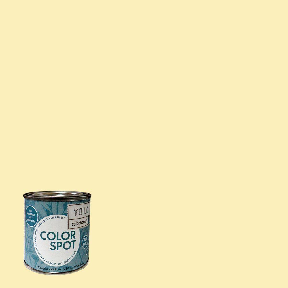 YOLO Colorhouse 8 oz. Aspire .01 ColorSpot Eggshell Interior Paint Sample-DISCONTINUED