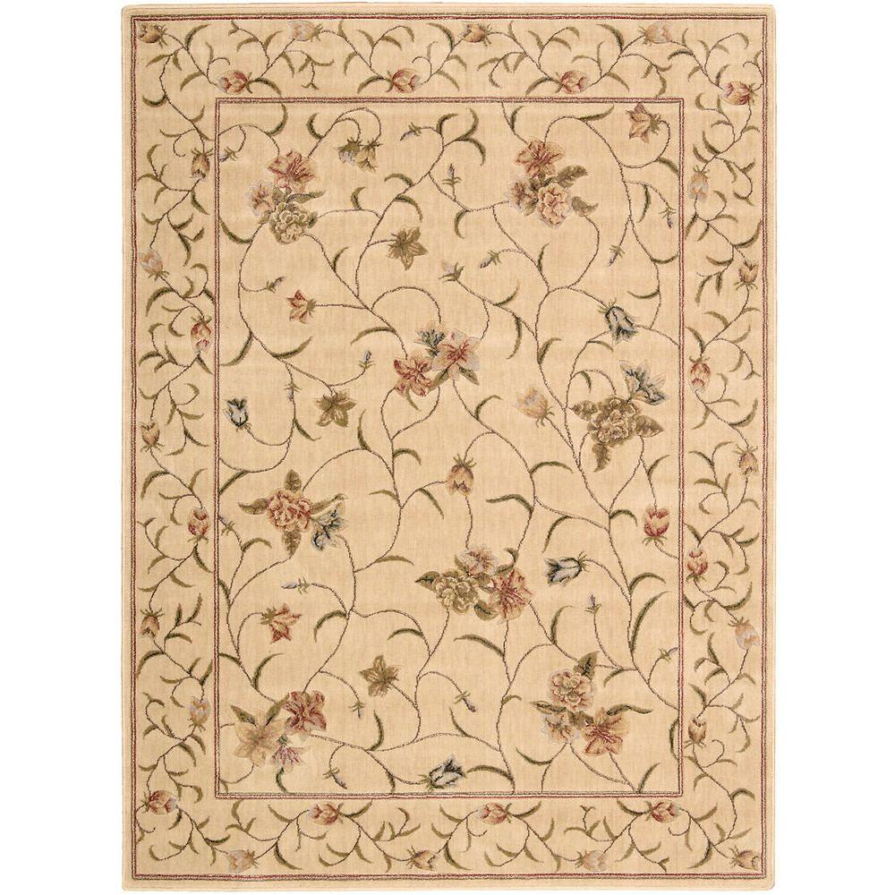 Somerset Ivory 5 ft. 3 in. x 7 ft. 5 in.