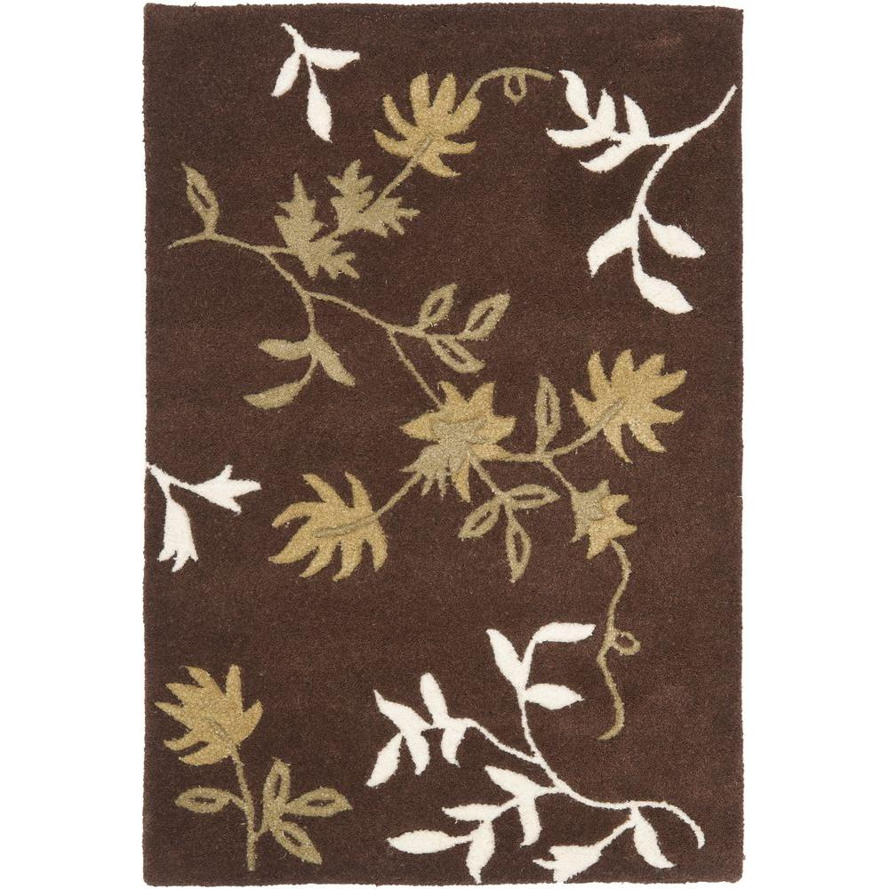 Soho Brown 2 ft. x 3 ft. Area Rug