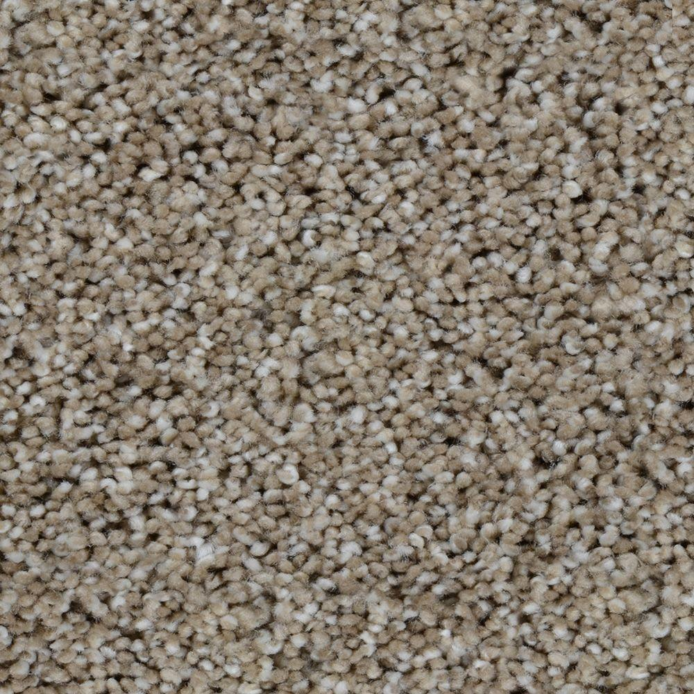 Trendy Threads II - Color Crafton Texture 12 ft. Carpet