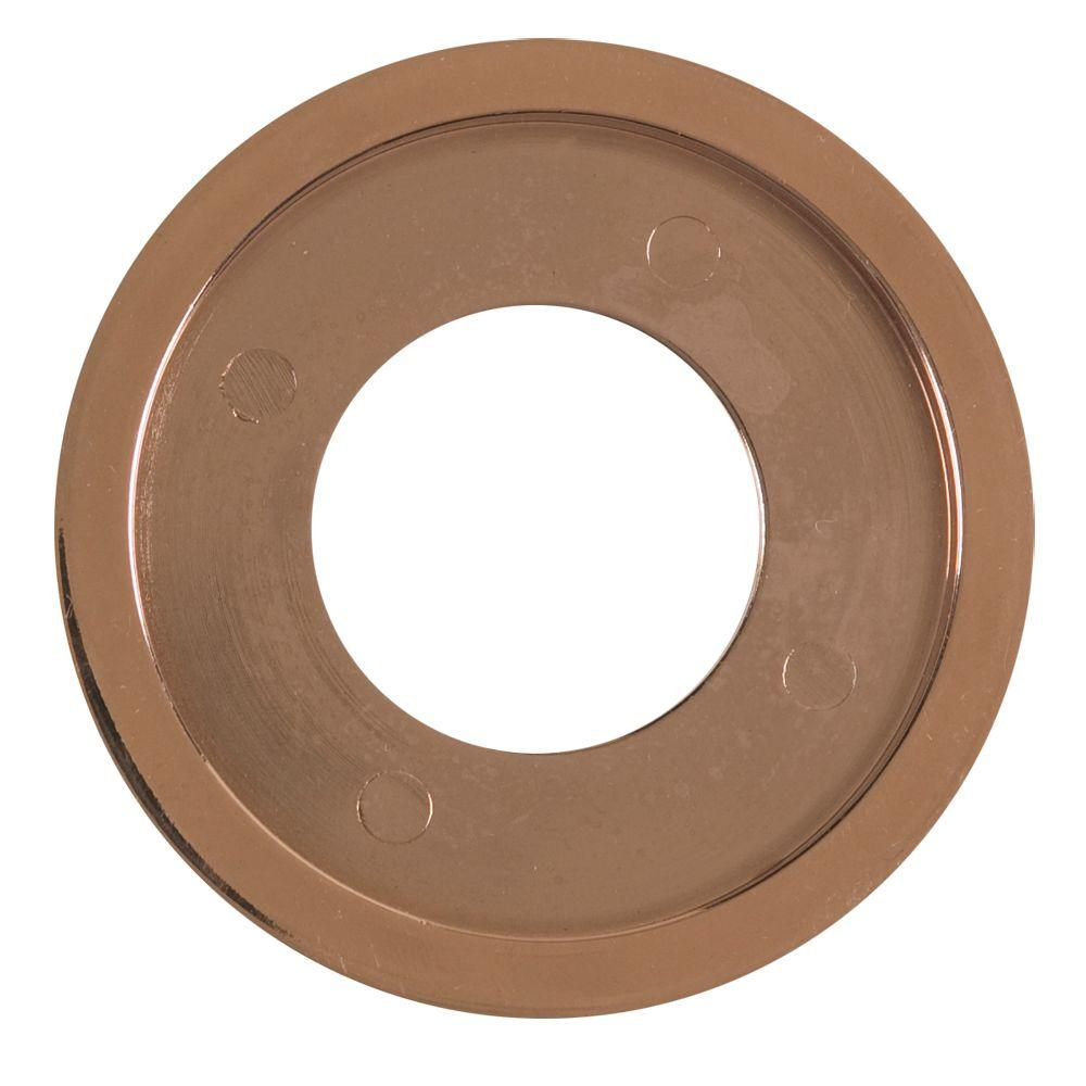 Blue Flame Decorative Gas Valve Flange Ring in Polished Copper-DFR.03 -