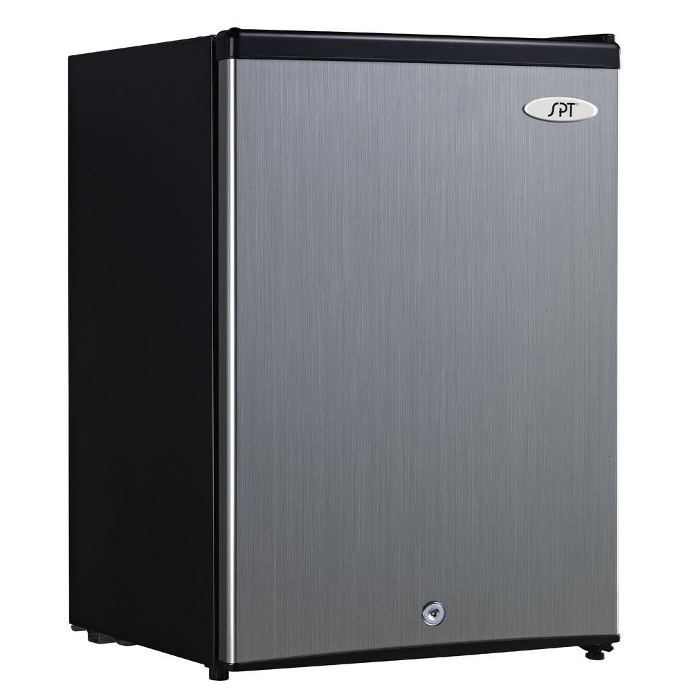 SPT 2.1 cu. ft. Upright Freezer in Stainless Steel-DISCONTINUED