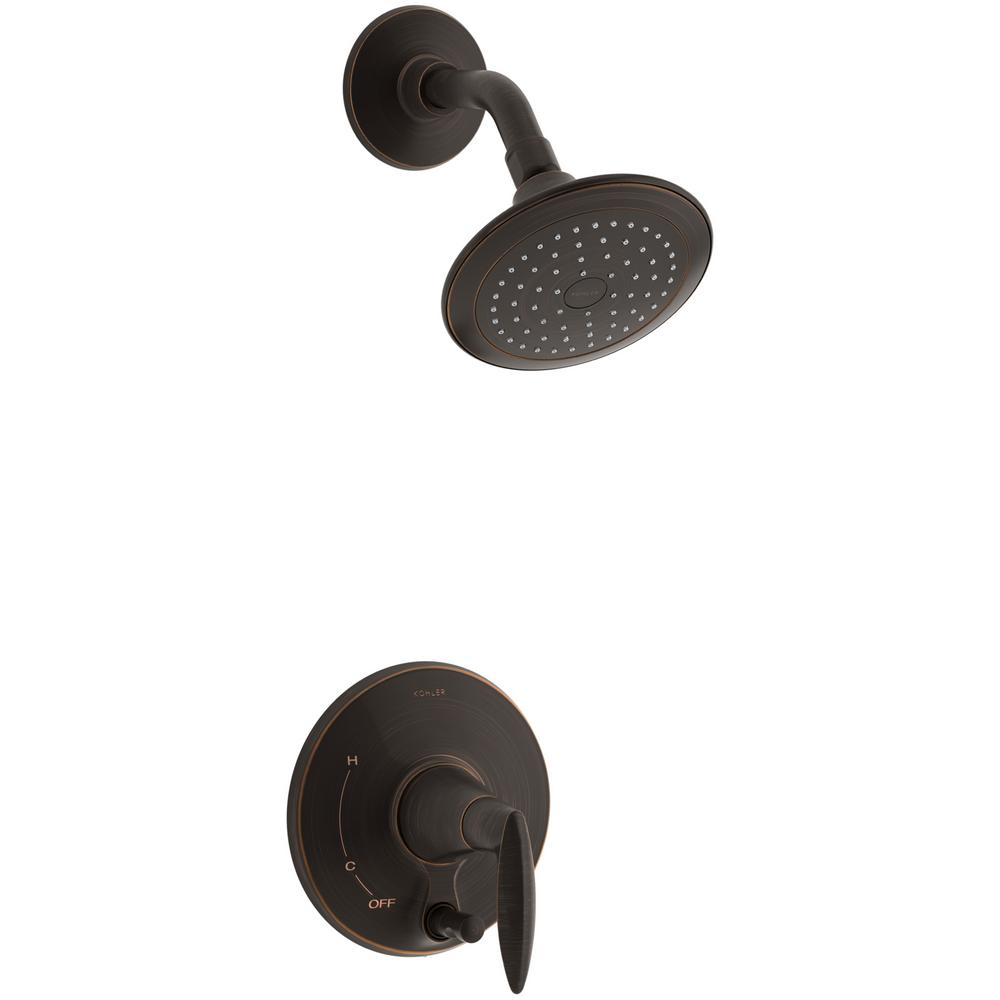 Alteo 1-Handle Shower Faucet Trim Kit in Oil-Rubbed Bronze (Valve Not