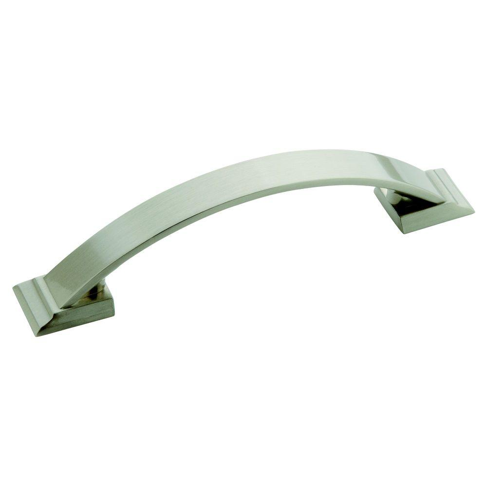 Candler 3-3/4 in. (96 mm) Center Satin Nickel Cabinet Pull
