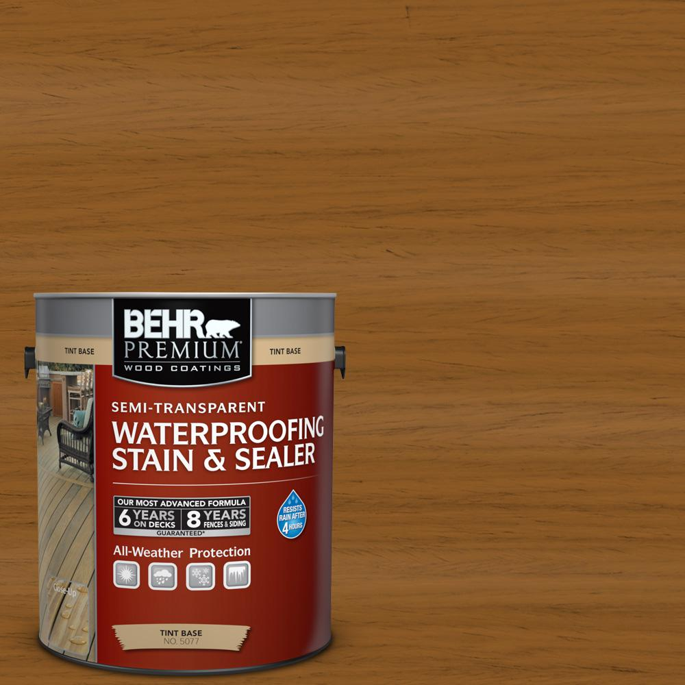 1 gal. #ST-134 Curry Semi-Transparent Waterproofing Stain and Sealer