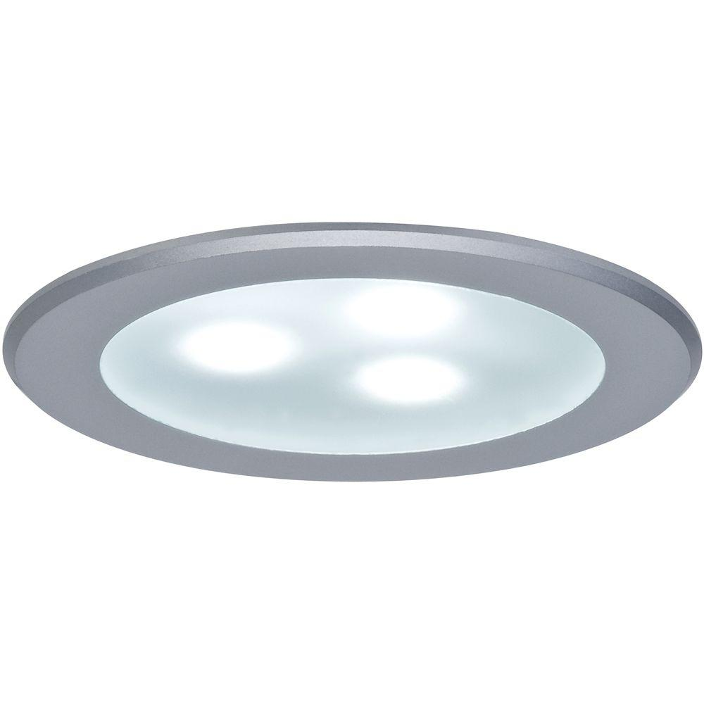 null Micro Line 3-15/16 in. HighPower LED Matte Chrome Under-Cabinet Light