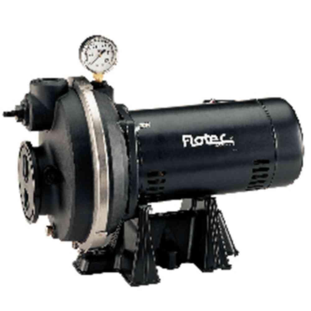 Flotec 1/2 HP Deep Well Convertible Jet Pump Composite 30/50 Psi 115/230V