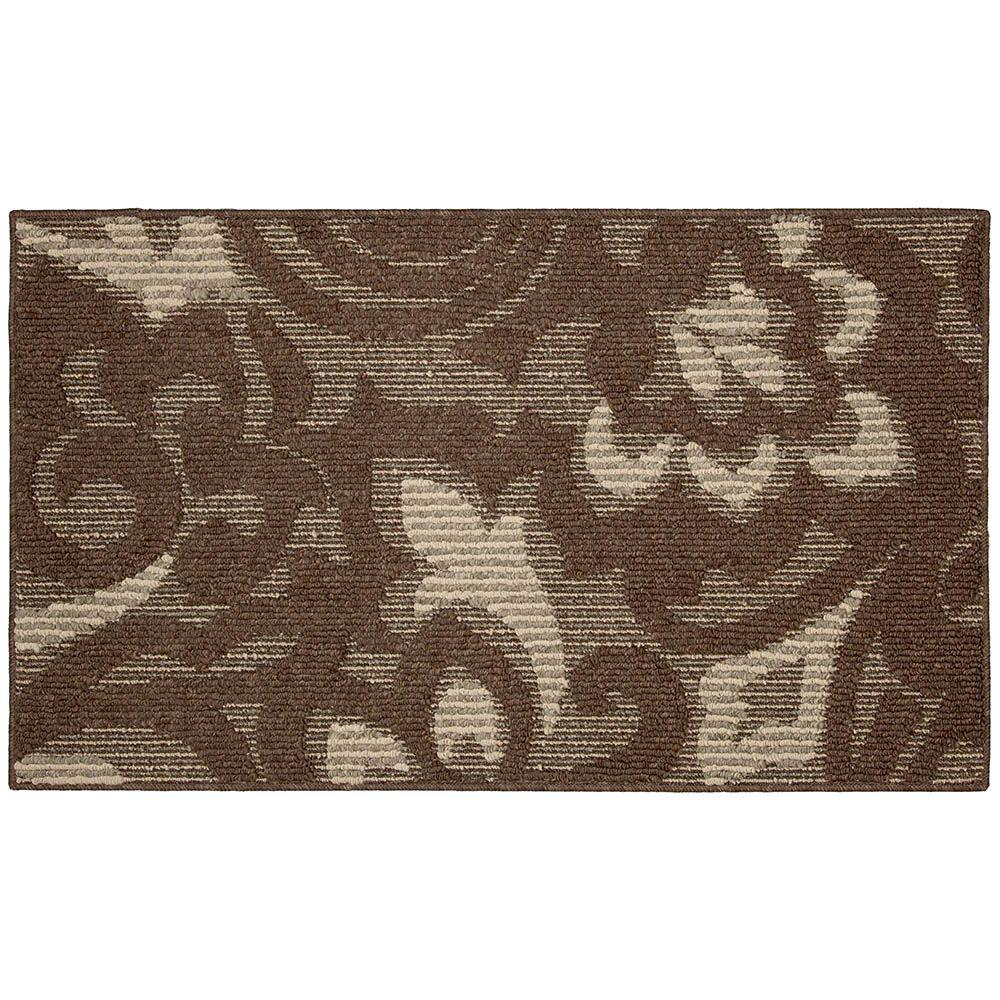 Mohawk Home Forte Dark Coco Taupe 2 ft. x 3 ft. 4 in. Accent Rug