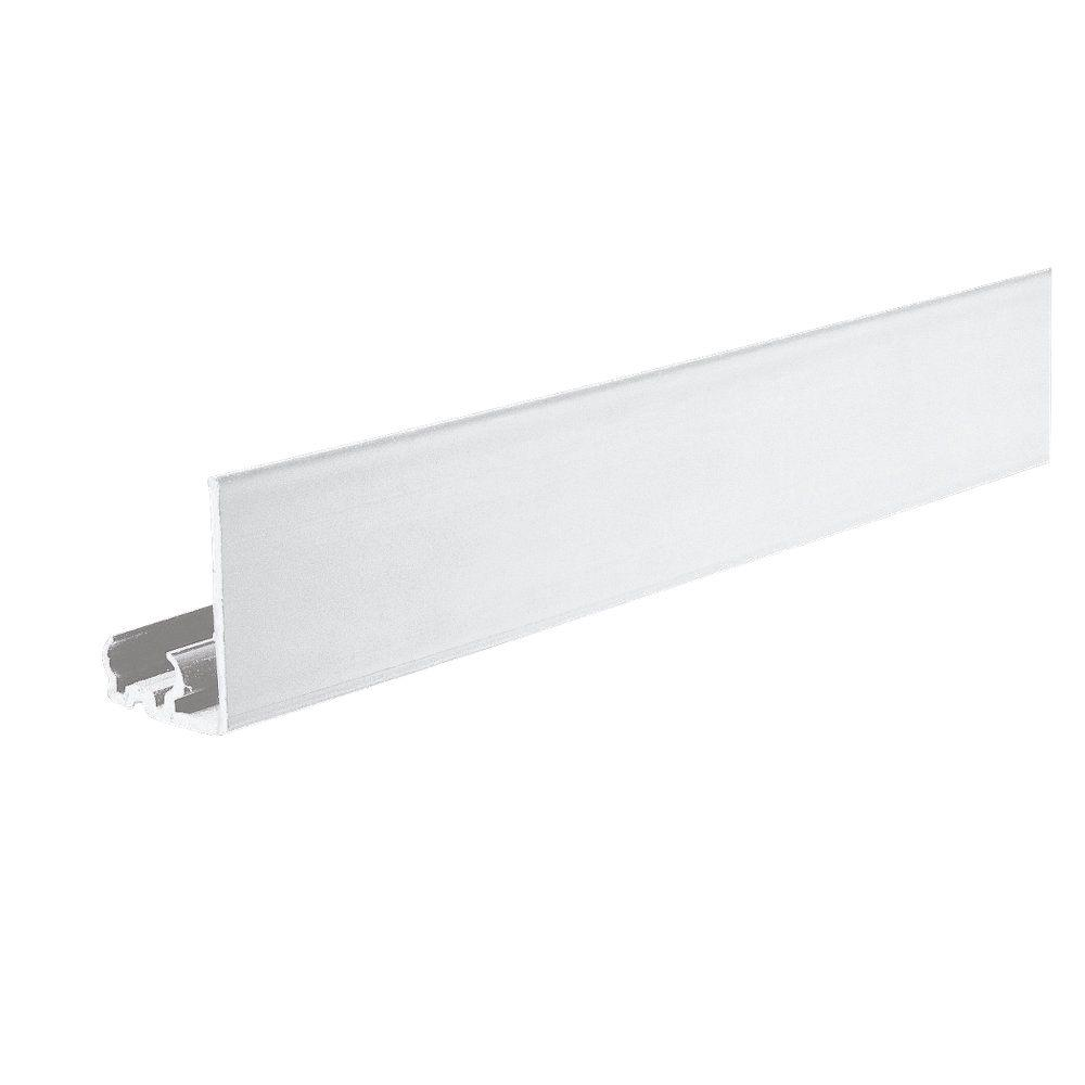 Ambiance 48 in. White Lx Track Noryl Fascia Panel