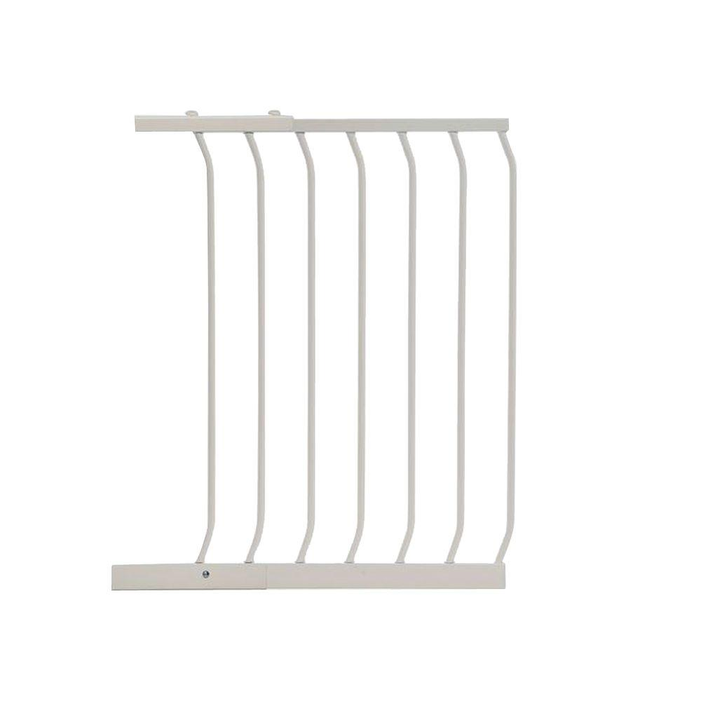 21 in. Gate Extension for White Chelsea Standard Height Child Safety