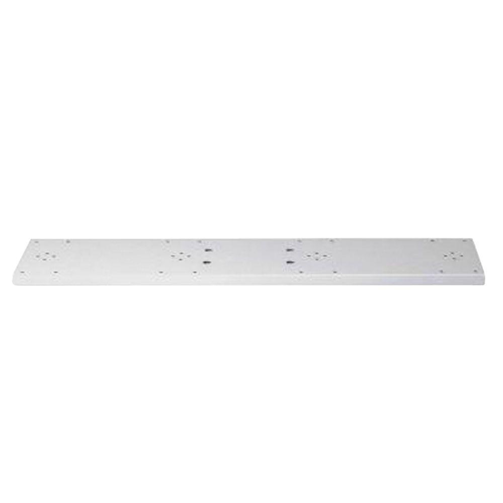 Architectural Mailboxes Quad Spreader Plate in White